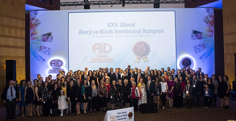 25. Türkiye Ulusal Alerji ve Klinik İmmünoloji Kongresi